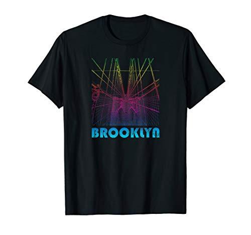 Brooklyn, New York Souvenir, NYC T-Shirt, gebraucht gebraucht kaufen  Wird an jeden Ort in Deutschland