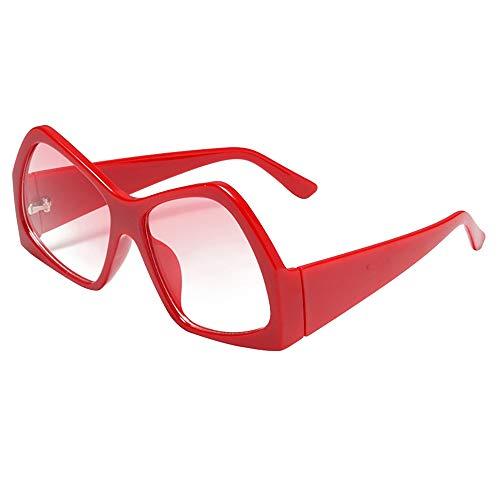 PinkLu GläSer Damen Retro-Stil Sonnenbrillen Schatten Sonnencreme Neues Design Viereckige Linse Beliebt Mode Temperament Sommer Neuer HeißEr Verkauf Beige Rote Gelbe GläSer