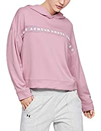 Under Armour Tech Terry Hoody T-Shirt Manches Longues Femme
