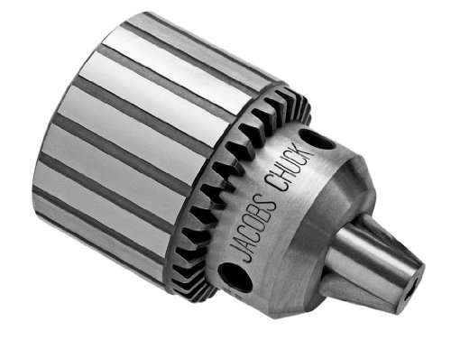 Jacobs 6309d Heavy Duty Kugellager Bohrfutter, 3Jacobs Taper Halterung, 0,5cm zu 2cm Bohrer Kapazität, K4Schlüssel -