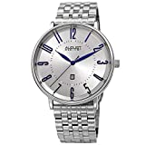 Best August Steiner Mens Bracelets - August Steiner Stainless Steel Men's Watch – Polished Review