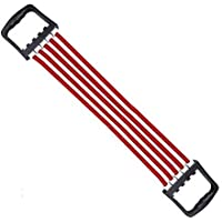 Aureum Multicolor Chest Expander Resistance Pulling Rope Bands Muscle Workout Stretcher Shoulder Exerciser Fitness Home Gym Equipment Latex Tube Hand Wrist Arm Gripper Exercise Sports Yoga-Pilates