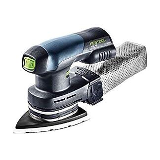 Festool DTSC 400 – Lijadora (Lijadora orbital, Velcro, Triángulo, 6000 RPM, 10000 RPM, 68 dB)