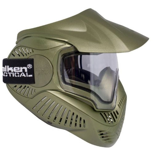Unbekannt Sly Paintball Maske Annex MI-7 Thermal, Olive, 62962 (Woodland Thermal)