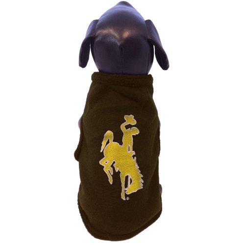 All Star Dogs NCAA Herren Ärmellos Polar Fleece Hund Sweatshirt, Herren, braun, Medium -