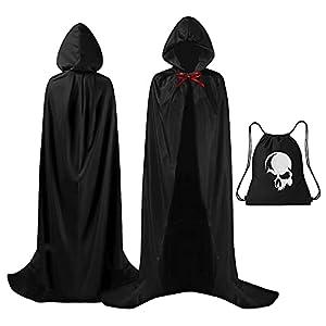 Capa Halloween, Capa Negra con