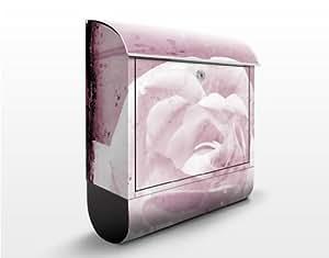 Design Briefkasten Antique Pink 39x46x13cm