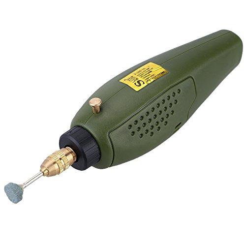 KKmoon-Set-di-Mini-Trapano-Elettrico-Strumento-per-Macinazione-12V-per-Lucidatura-a-Fresa-Taglio-Incisione