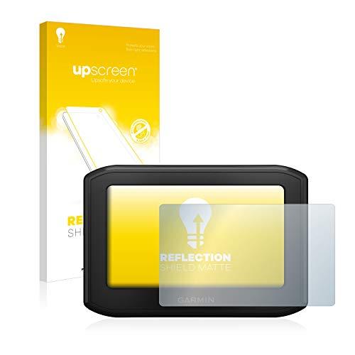upscreen Matt Schutzfolie für Garmin zumo 396 LMT-S - Entspiegelt, Anti-Reflex, Anti-Fingerprint