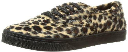 Vans U Authentic Lo Pro, Baskets mode mixte adulte Beige (Furry Leopard)