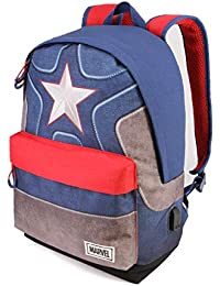 Karactermania Captain America Suit-HS Backpack Mochila Tipo Casual 42 Centimeters 23 (Multicolour)