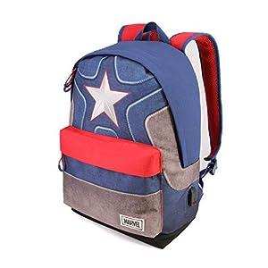 41kRoLofehL. SS300  - Capitán América Suit-Mochila HS