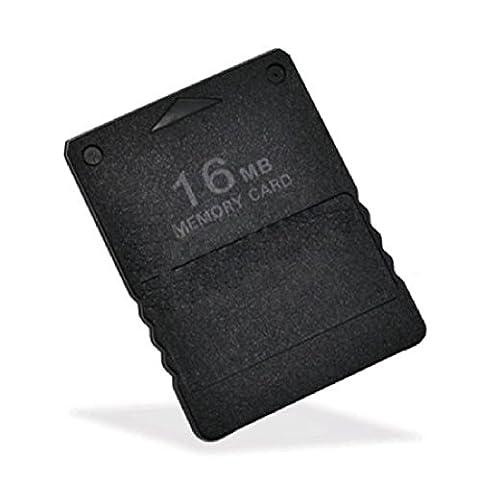 LUFA Jeux Accessoires Disque Micro 16Mb carte mémoire flash pour Sony PS2 Playstation 2