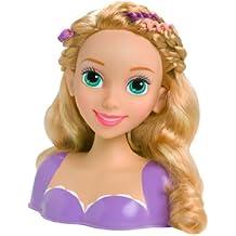 Disney Princess Rapunzel cabeza estilo con los accesorios