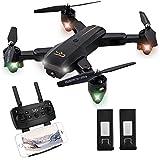 ScharkSpark drone Thunder dengan kamera video langsung, RC quadcopter dengan baterai 2, mudah dikendalikan untuk pemula, lengan yang dapat dilipat, sumbu 2,4 G 6, mode tanpa kepala, mode fungsi ketinggian