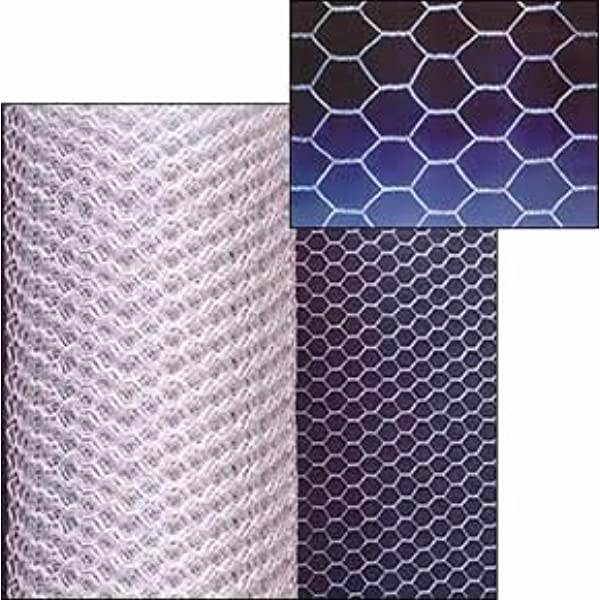 50 Fixings Direct *900x50* Galvanised Strong Grade Chicken Wire Heat Dipped For Added Protection Multi Size Rolls Available