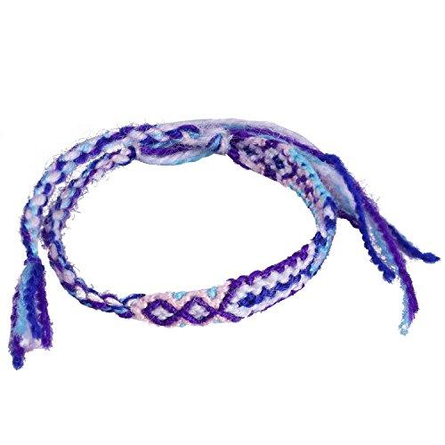 Hand Kunst Geflochten Armband Mischen Farbe Freundschaft Armband Geschenk Zum Freunde (Freund Kleid)