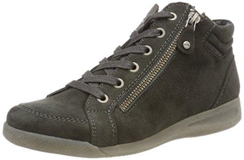 ara ROM, Damen Hohe Sneaker, Grau (Elefant 11), 38 EU (5 UK)