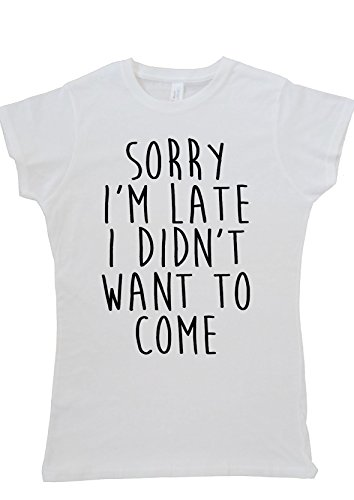 sorry-im-late-i-didnt-want-to-come-women-ladies-vest-tank-top-t-shirt-m