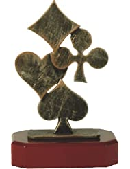 Metall-Resin Figur - (BEL171) Poker / Skat