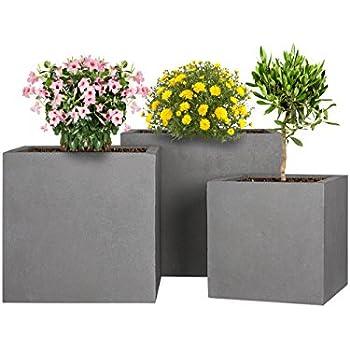 bac plantes en fibres de verre visio couleur gris mat grand bac plantes r sistant aux. Black Bedroom Furniture Sets. Home Design Ideas