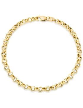 Carissima Gold Damen-Armband 9 Karat (375) Gelbgold 18 cm