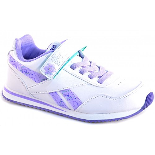 Reebok - Reebok scarpe bambina con luci bianco viola Blanc