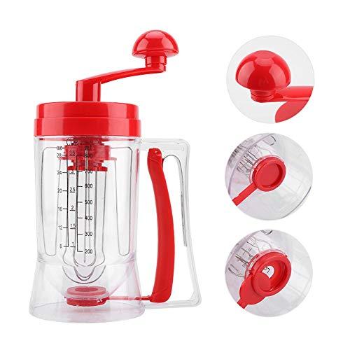 Cupcake Batter Mixer, Pancake Cupcake Batter Mixer Dispenser Mixer Hand-manuelle Maschine Backwerkzeug