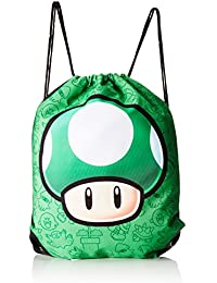 Nintendo Turnbeutel - Mushroom - grün