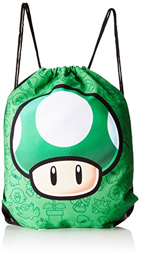 nintendo-super-mario-bros-1up-mushroom-gym-bag-green