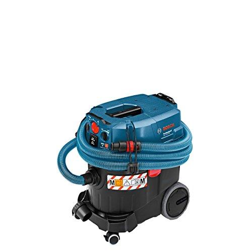 Bosch Professional GAS 35 M AFC Nass-& Trockensauger, 35 L Behältervolumen, automatische Filterreinigung, Staubklasse M
