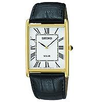 Seiko Reloj Analógico de Cuarzo para Hombre con Correa de Cuero – SUP880P1 de Seiko