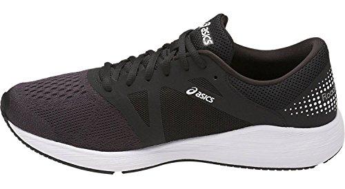 Asics Roadhawk Ff, Chaussures de Running Homme Noir (Black/white/silver)