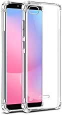 Bracevor Shockproof TPU for Xiaomi Redmi 6A Back Case Cover | Ultimate Edge Protection | Cushioned Edges | Anti Slip | Premium Design - Transparent