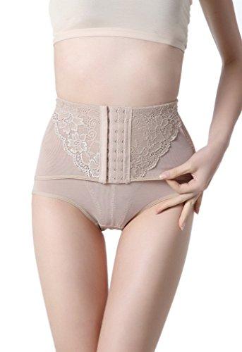 Toyobuy Femme Panty Haute Taille Minceur Collants Sculptante Lingerie Invisible