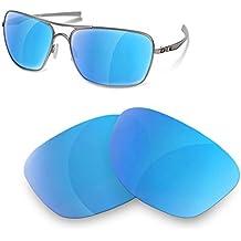 Lentes de Recambio Polarizadas Ice Blue para Oakley Plaintiff Squared