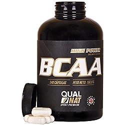 BCAA para tu entrenamiento y desarrollo muscular – Suplemento deportivo de aminoácidos de cadena ramificada con vitaminas B2 y B6 - Impide la fatiga y ayuda a la pérdida de grasa - 240 cápsulas