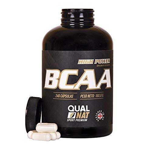 BCAA |240 capsule | per l' allenamento e lo sviluppo muscolare | integratore sportivo di aminoacidi a catena ramificata con vitamine B2 e B6 | aiuta a perdere peso