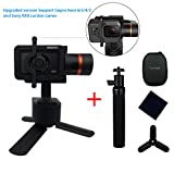 Hohem XG1 Upgraded 3-Axis Wearable Gimbal Stabilizer for GoPro Hero 6/5/4/3, Sony RX0,Yi 4K,SJcam and similar size action camera,Including Tripod stand and extension rod