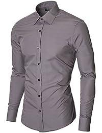 MODERNO - Slim Fit Business Hemd (MOD1426LS)