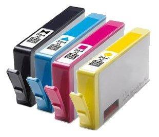 4cartouches-dencre-hp364avec-puce-compatibles-deskjet-3070a-35203522officejet-46204622photosmart-551