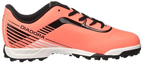 Diadora 7fifty Tf, Chaussures de Soccer Intérieur Homme Rouge (Rosso Fluo/nero)