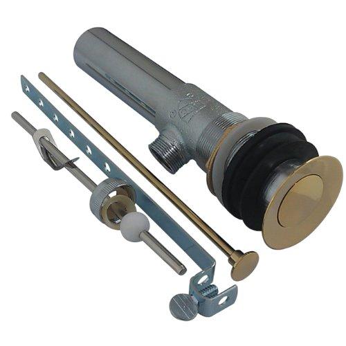 Kingston Messing KB1002Columbia 22Gauge Messing Pop Up Montage, 2–1/8Zoll, Messing poliert (Hook Gauge)