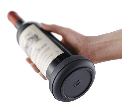 vacu-vin-1855460-posa-botellas-de-pvc-color-negro