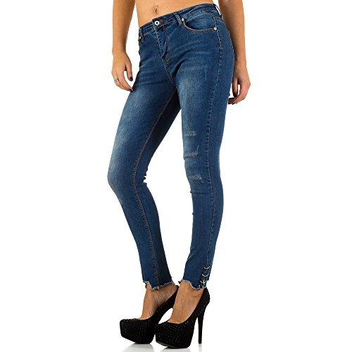 iTaL-dESiGn - Jeans - Skinny - Femme Bleu