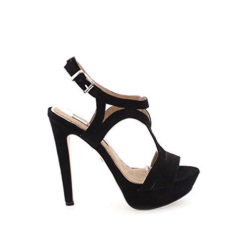 MARIA MARE - 66014 - C25627 - Sandale - Donna - Taglia: 39 - Colore: Nero