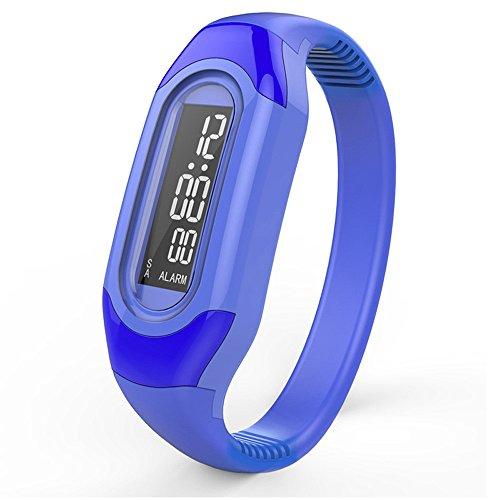 NEEKY Herren Armbanduhr,Sportuhren,Smartwatch,Für Unisex Fitness Uhren - LED elektronische Schrittzähler Elektronische Damen Watch