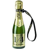 Champagne Nicolas Feuillatte One Four blau brut-fun mit Handschlaufe (3 x 0.2 l)