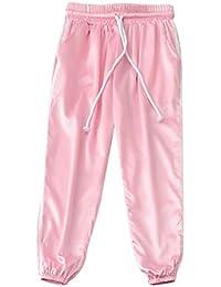 Oneforus Pantalones Harem Deportivos para Mujeres - Street Hip Hop Running  Pantalones Deportivos de Encaje 85043f04b3d