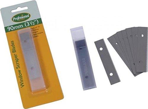 Rodo Pk 10 Window Scraper Blades PWSB10